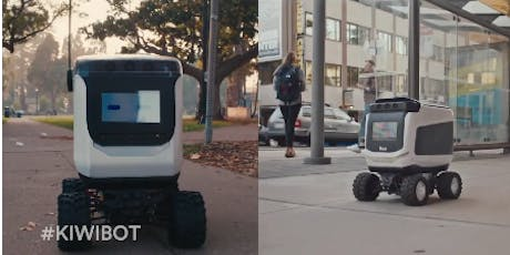 Exclusive Video Conference: The making of KiwiBot food delivery robots tickets