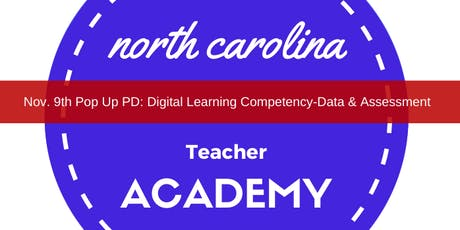 Pop Up PD: Digital Learning Compentency- Data & Assessment tickets