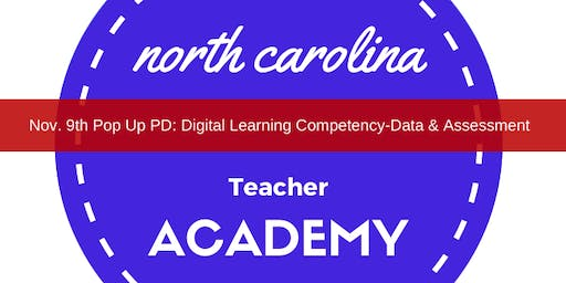 Pop Up PD: Digital Learning Compentency- Data & Assessment
