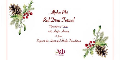 Alpha Phi Red Dress Gala tickets