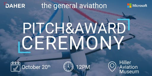 The General Aviathon - Pitch & Award Ceremony