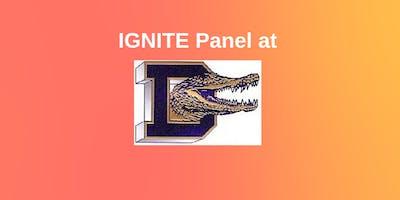 IGNITE Panel at Decatur High School