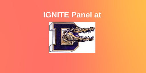 IGNITE Panel at Decatur High School - SOLD OUT