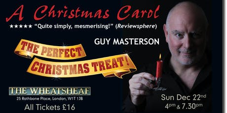 A CHRISTMAS CAROL with GUY MASTERSON tickets