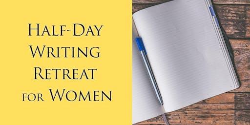 Half-day Writing Retreat for Women