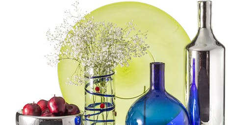 Hand Blown Glass, Warehouse Moving Sale