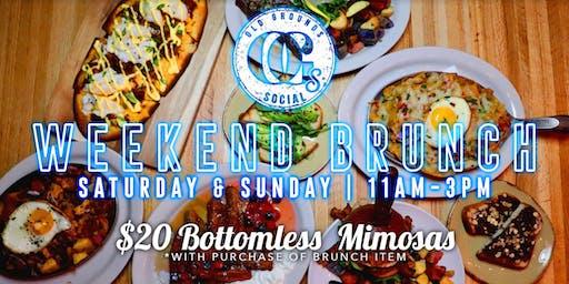 Saturday Bottomless Brunch