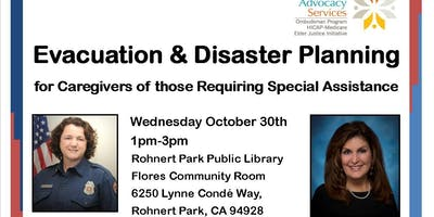 Evacuation & Disaster Planning for Caregivers