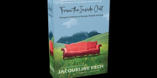 Authors signing for FROM THE INSIDE OUT featuring Jaqueline Rech