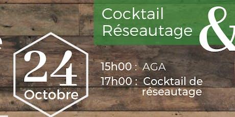 """Cocktail """"Outiller l'innovation et le développement de nos communautés"""" billets"""
