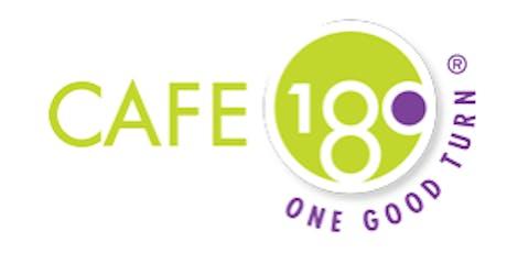 Volunteer at Cafe180 tickets