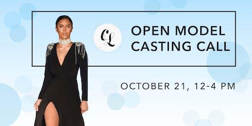 Open Model Casting Call
