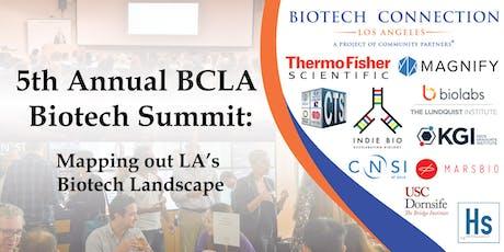 5th annual BCLA Biotech Summit tickets