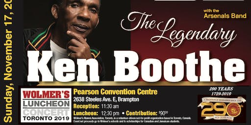 Wolmer's Luncheon Concert Toronto 2019 - The 290th Anniversary Event