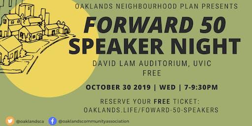FORWARD 50 Speaker Night