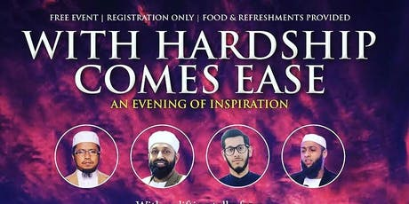 WITH HARDSHIP COMES EASE tickets