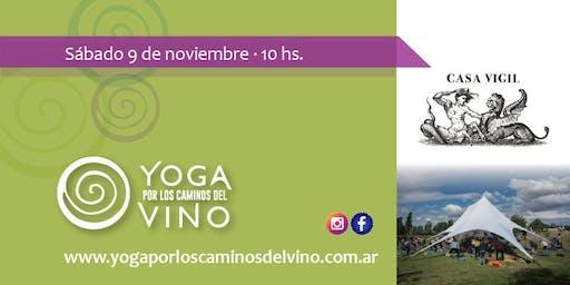 Yoga por los Caminos del Vino - Casa Vigil