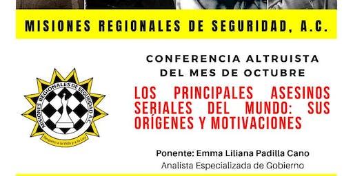 LOS PRINCIPALES ASESINOS SERIALES DEL MUNDO: SUS ORÍGENES Y MOTIVACIONES