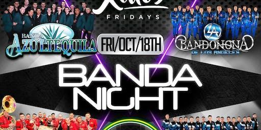 Banda Night - Azul Tequila en Anaheim, CA 2019
