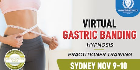 Hypnosis Virtual Gastric Banding Practitioner certification tickets