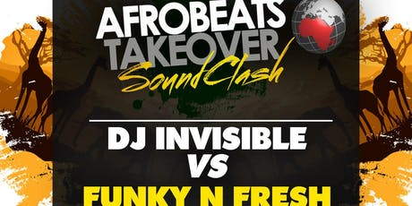 The Afrobeats Takeover Soundclash tickets