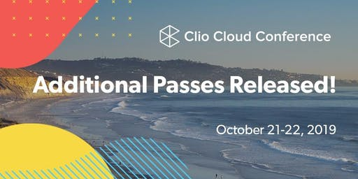 Clio Cloud Conference 2019