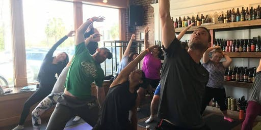 Beer Yoga at Craft & Draft
