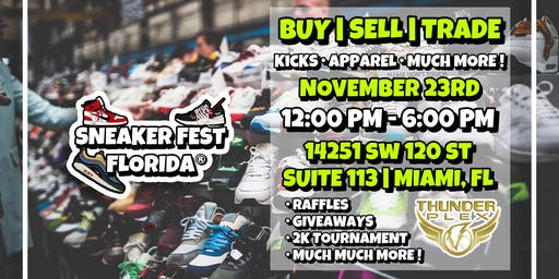 Sneaker Fest Florida (Buy-Sell-Trade Sneakers) (Apparel,Sneakers,Art)