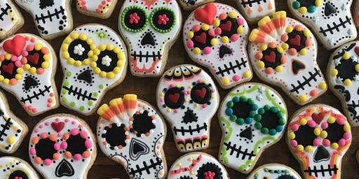Day of the Dead Cookie Decorating for Kids