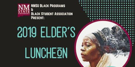 NMSU Black Programs Presents: 2019 Elder's Luncheon tickets