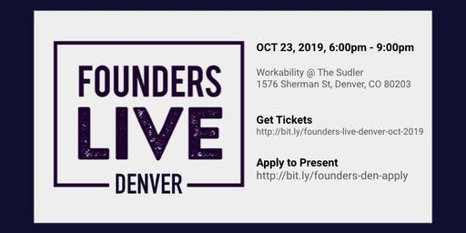 Founders Live Denver - October 2019
