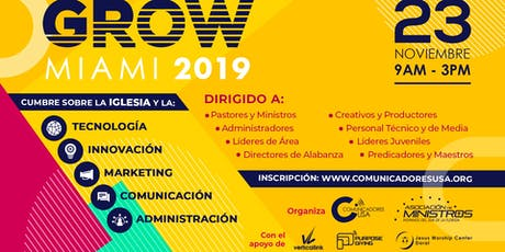 Grow Conference Miami 2019 entradas