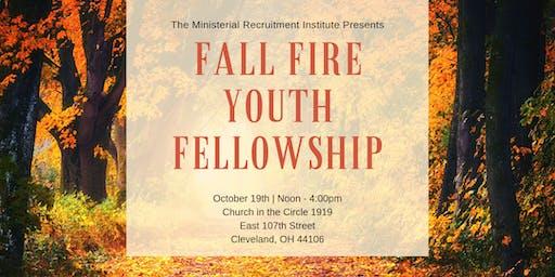 Fall Fire  Youth Fellowship