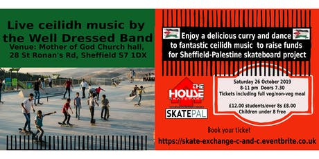 Skate Exchange Curry and Ceilidh tickets