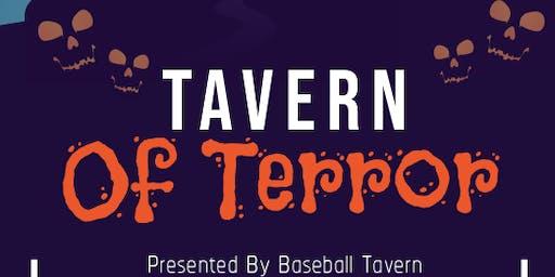 Tavern Of Terror - Oct 26th Halloween Party