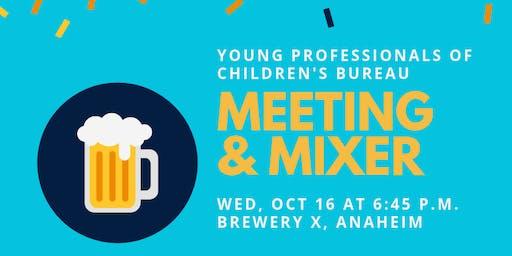 Young Professionals of Children's Bureau Meeting & Mixer