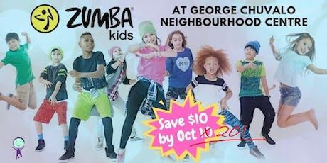 Zumba Kids @ George Chuvalo N. C. tickets