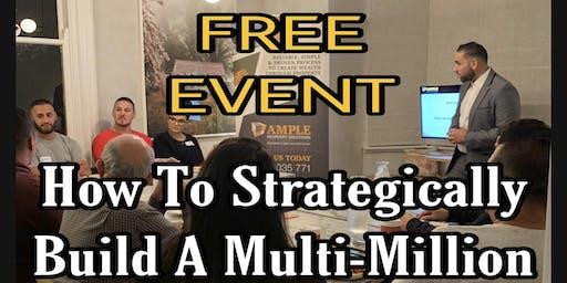 How To Strategically Build A Multi-Million Dollar Property Portfolio
