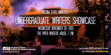 ASU Undergraduate Writers Showcase tickets