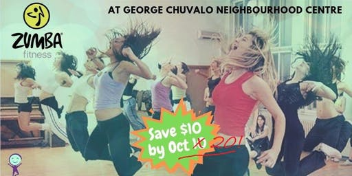 Zumba Fitness - $12 drop in @ George Chuvalo N. C.