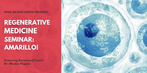 Free Regenerative Medicine & Stem Cell Seminar for Pain Relief - Amarillo, TX!