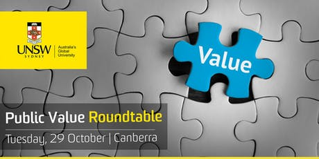 Canberra: Public Value Roundtable tickets