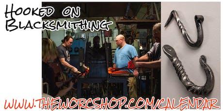 Hooked on Blacksmithing with Jonathan Maynard 10.18.19 tickets