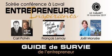 Entrepreneurs Inspirants Laval tickets