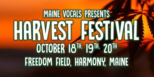 Harvest Festival a Maine Vocals production