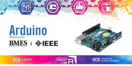 Arduino Workshop with BMES & IEEE tickets