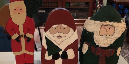 Santa Paint Night with Mrs. Poisal