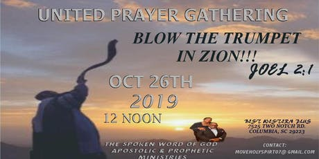 UNITED PRAYER GATHERING tickets