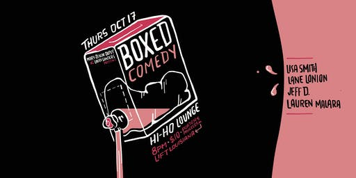 Boxed Comedy | October