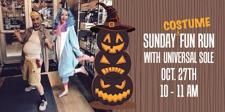 FREE Sunday COSTUME Fun Run w/Universal Sole tickets